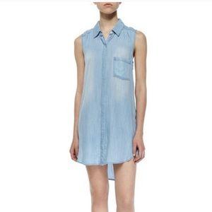 Rails Chambray Denim Dress Size Small